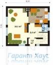 78-proekt.ru - Проект Одноквартирного Дома №178.  План Первого Этажа