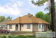 78-proekt.ru - Проект Одноквартирного Дома №232.  Вид №1