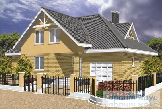 Проект одноквартирного дома № 259