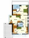 78-proekt.ru - Проект Одноквартирного Дома №72.  План Второго Этажа