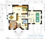 78-proekt.ru - Проект Одноквартирного Дома №59.  План Первого Этажа