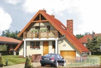 Проект одноквартирного дома № 196