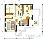 78-proekt.ru - Проект Одноквартирного Дома №246.  План Первого Этажа