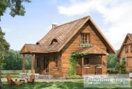 78-proekt.ru - Проект Одноквартирного Дома №11.  Вид №1