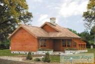 78-proekt.ru - Проект Одноквартирного Дома №283.  Вид №1