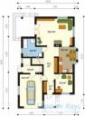 78-proekt.ru - Проект Одноквартирного Дома №315.  План Первого Этажа