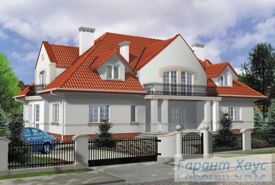 Проект двухквартирного дома № 20