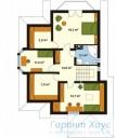 78-proekt.ru - Проект Одноквартирного Дома №106.  План Второго Этажа