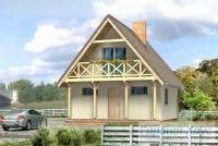 Проект дачного дома № 11