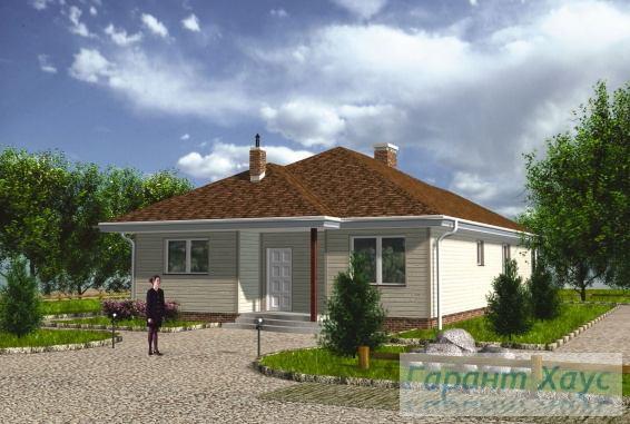 Проект одноквартирного дома № 334