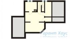 78-proekt.ru - Проект Одноквартирного Дома №173.  План Подвала