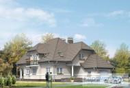 78-proekt.ru - Проект Одноквартирного Дома №263.  Вид №1