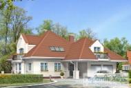 78-proekt.ru - Проект Одноквартирного Дома №215.  Вид №1