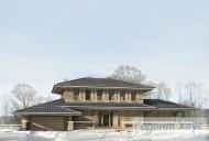 78-proekt.ru - Проект Одноквартирного Дома №302.  Вид №1
