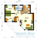 78-proekt.ru - Проект Одноквартирного Дома №286.  План Первого Этажа