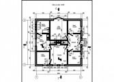 78-proekt.ru - Проект Дачного Дома №137  Вид №1
