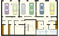 78-proekt.ru - Проект Двухквартирного Дома №14.  План Подвала