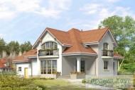 78-proekt.ru - Проект Одноквартирного Дома №39.  Вид №2