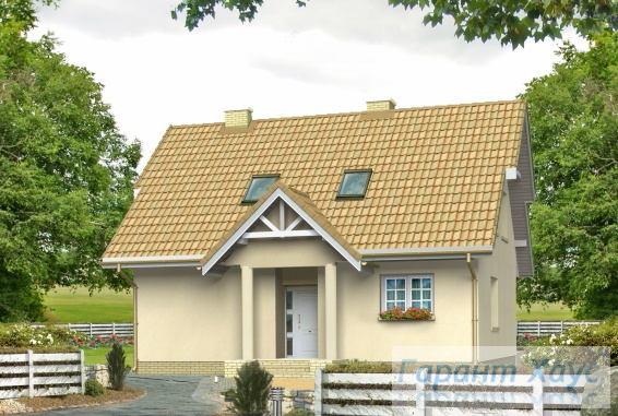 Проект одноквартирного дома № 168