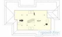78-proekt.ru - Проект Одноквартирного Дома №80.  План Второго Этажа