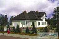 78-proekt.ru - Проект Одноквартирного Дома №316.  Вид №1