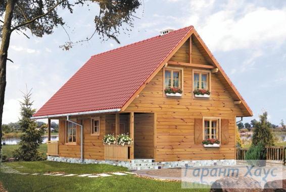 Проект одноквартирного дома № 135
