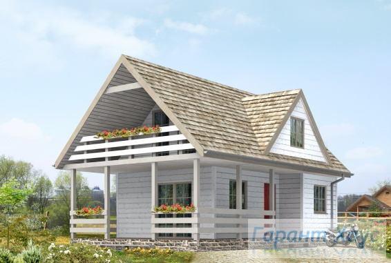 Проект дачного дома № 14