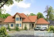 78-proekt.ru - Проект Одноквартирного Дома №142.  Вид №1