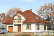 78-proekt.ru - Проект Одноквартирного Дома №68.  Вид №1
