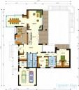 78-proekt.ru - Проект Одноквартирного Дома №25.  План Первого Этажа