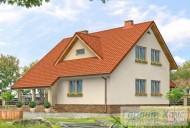 78-proekt.ru - Проект Одноквартирного Дома №119.  Вид №2