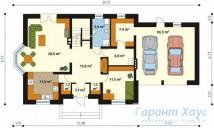 78-proekt.ru - Проект Одноквартирного Дома №155.  План Первого Этажа