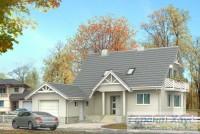 Проект одноквартирного дома № 170