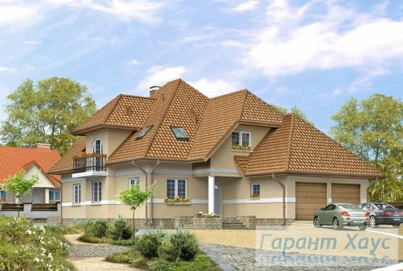 Проект двухквартирного дома № 21