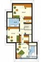 78-proekt.ru - Проект Одноквартирного Дома №245.  План Второго Этажа