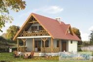78-proekt.ru - Проект Одноквартирного Дома №290.  Вид №1
