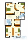 78-proekt.ru - Проект Одноквартирного Дома №46.  План Второго Этажа