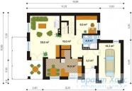 78-proekt.ru - Проект Одноквартирного Дома №186.  План Первого Этажа