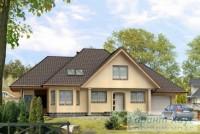 Проект одноквартирного дома № 244