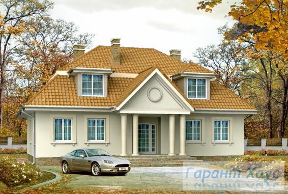 Проект одноквартирного дома № 221