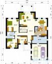 78-proekt.ru - Проект Одноквартирного Дома №144.  План Первого Этажа