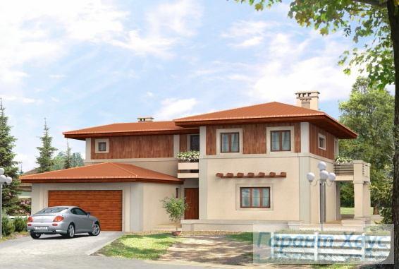 Проект одноквартирного дома № 21