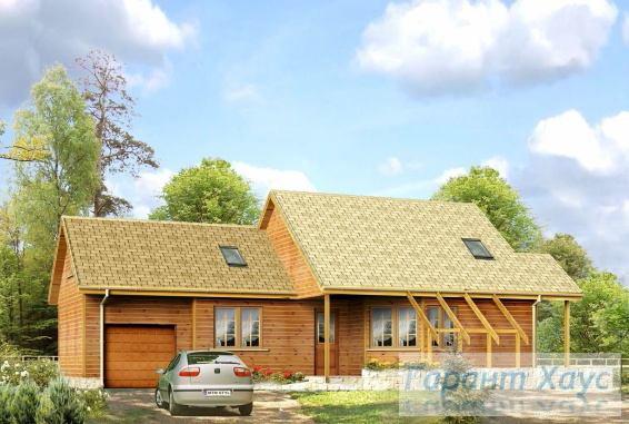 Проект одноквартирного дома № 272