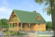 78-proekt.ru - Проект Одноквартирного Дома №293.  Вид №1