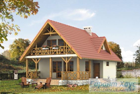 Проект одноквартирного дома № 290