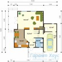 78-proekt.ru - Проект Одноквартирного Дома №28.  План Первого Этажа