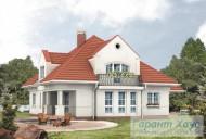 78-proekt.ru - Проект Одноквартирного Дома №214.  Вид №2