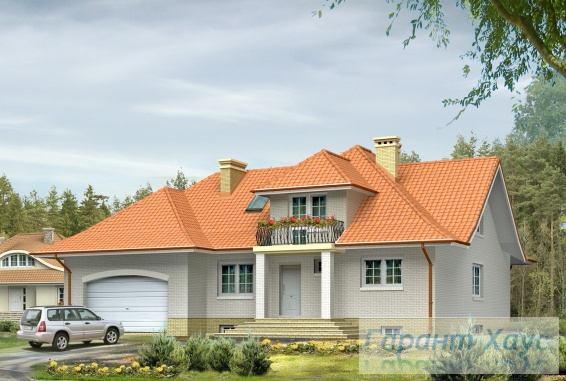 Проект одноквартирного дома № 4