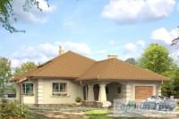 Проект одноквартирного дома № 52