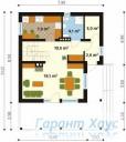 78-proekt.ru - Проект Одноквартирного Дома №290.  План Первого Этажа